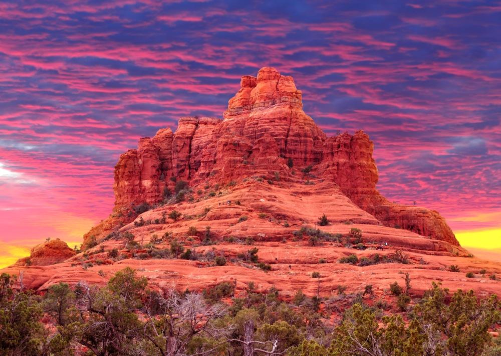 The best Sedona sunset views